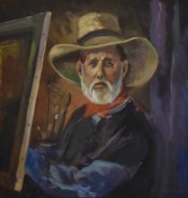 Edwin Brewer, self portrait