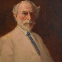 N.R. Brewer, self portrait