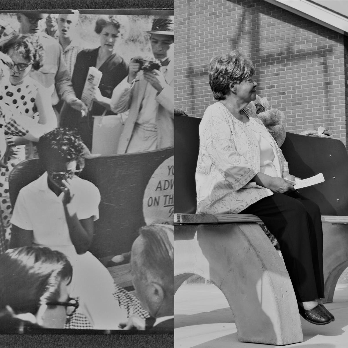 Dedication Of The Elizabeth Eckford Commemorative Bench